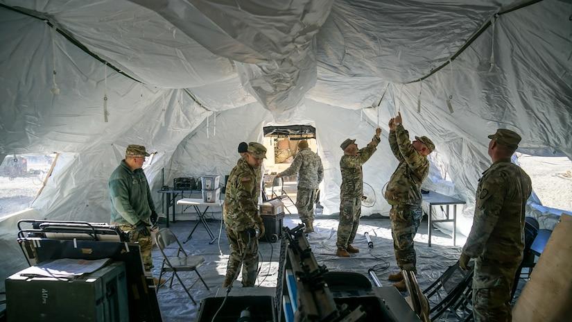 204th Maneuver Enhancement Brigade Field Training 2019