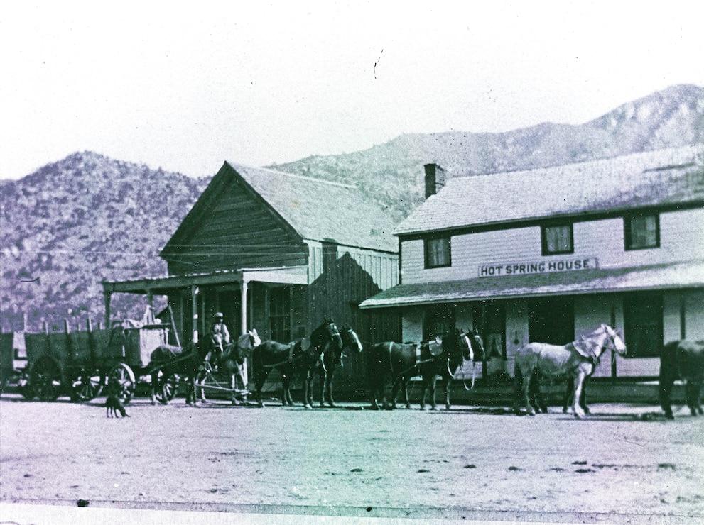 Hot Springs House c. 1900