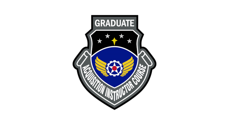 Acquisition Instructor Course patch.