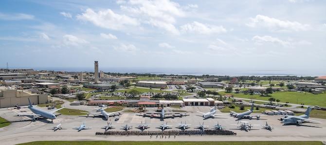 U.S., Japan and Australian forces kick off COPE NORTH 2020