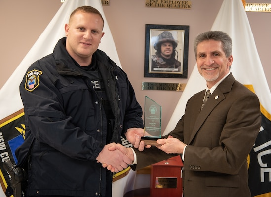 DLA Installation Management Susquehanna emergency personnel, first responders receive recognition for outstanding accomplishments