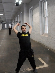 Support Command Soldiers prepping for Army Combat Fitness Test