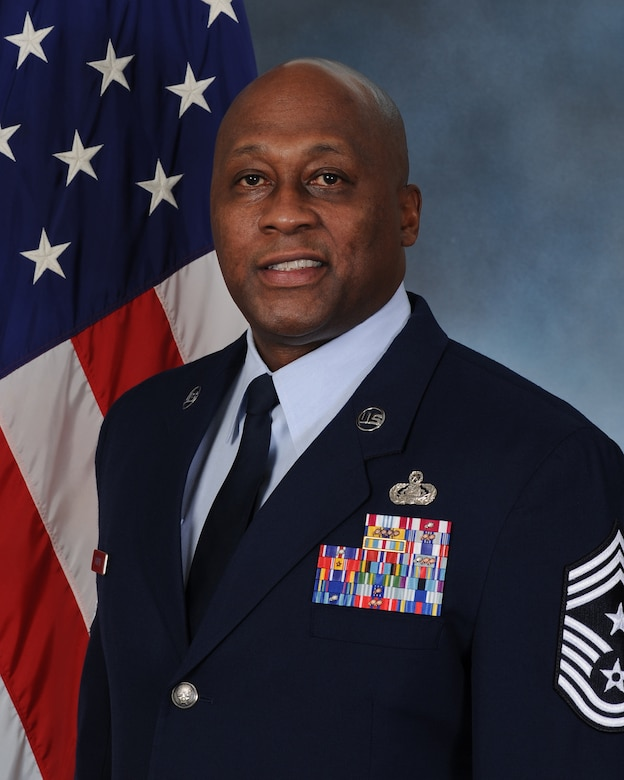 Chief Master Sgt. Ronald Harper, 341st Missile Wing command chief.