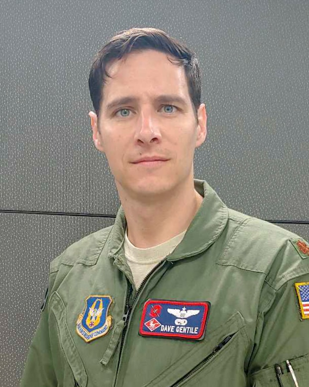 Maj. David Gentile, 403rd Wing Safety chief of safety, poses for a photo Feb. 12 at Andersen Air Force Base, Guam. Gentile was selected as the wing's Field Grade Officer of the Year. (Courtesy photo)