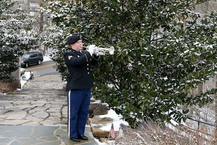 Army Reserve, community honor William Henry Harrison