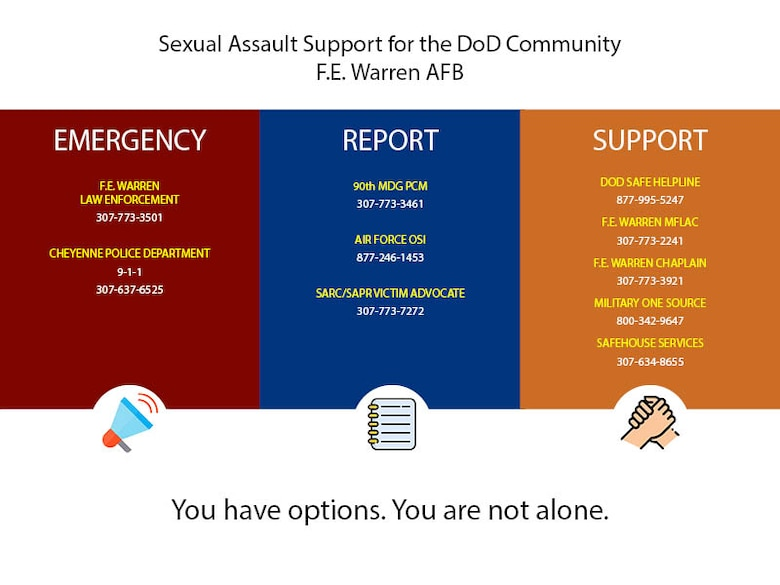 Graphic for Sexual Assault Resources