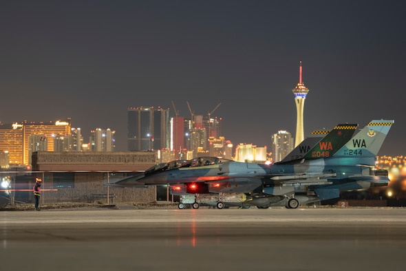 Aircraft prepare to takeoff