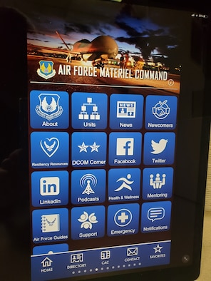AFMC newcomers feature on app