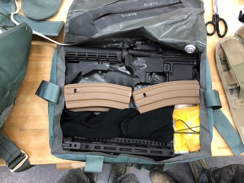 The Air Force Gunsmith Shop – part of the Air Force Life Cycle Management Center's Armament Directorate – recently completed delivery of a new rifle for aircrew in most ejection seat aircraft.