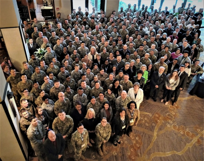 Approximately 300 military and civilian financial managers from Air Force installations around the world participated in AFIMSC's third annual Air Force Financial Operations conference Feb. 11-13 in San Antonio.