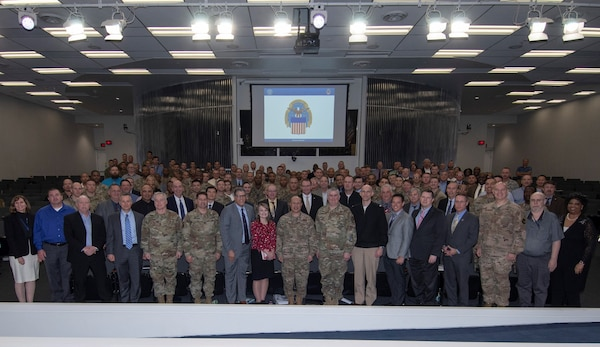photo of 180 representatives from the military petroleum community