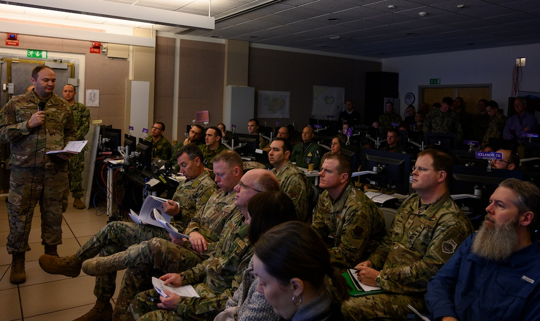 Joint, Coalition partners conduct STAFFEX 20-2