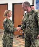 New Joint Reserve Force director visits with troops in Richmond