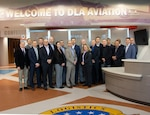 Eisenhower School students visit DLA Aviation, learn how agency supports depot material availability