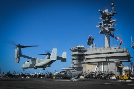 Theodore Roosevelt, America Strike Groups Conduct Joint Operations in 7th Fleet