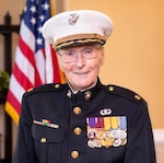 DLA Distribution San Joaquin participates in Operation Valentine for 104-year-old Marine