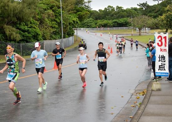 Kadena Air Base supports the 2020 Okinawa Marathon
