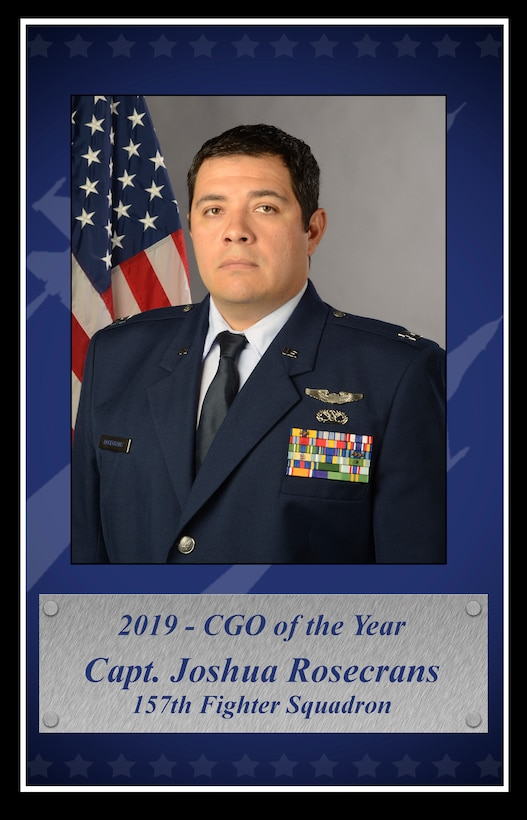 Photo graphic of the 2019 South Carolina Air National Guard's Airmen of the Year