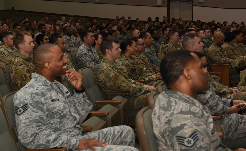 "JBA attend ""A Conversation with CMSAF Wright"""