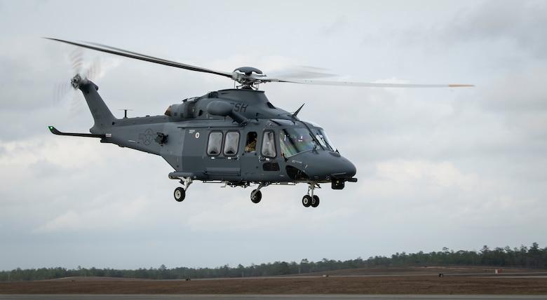 Grey Wolf test flight