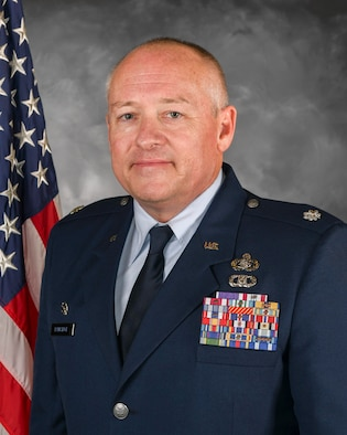 Lieutenant Colonel Mathew W. Ramstack is the commander, 422nd Air Base Squadron.