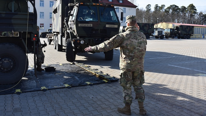 16th Sustainment Brigade Task prepares for support of DEFENDER-Europe 20