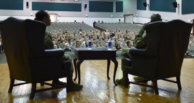 "JBA members attend ""A Conversation CMSAF Wright"""