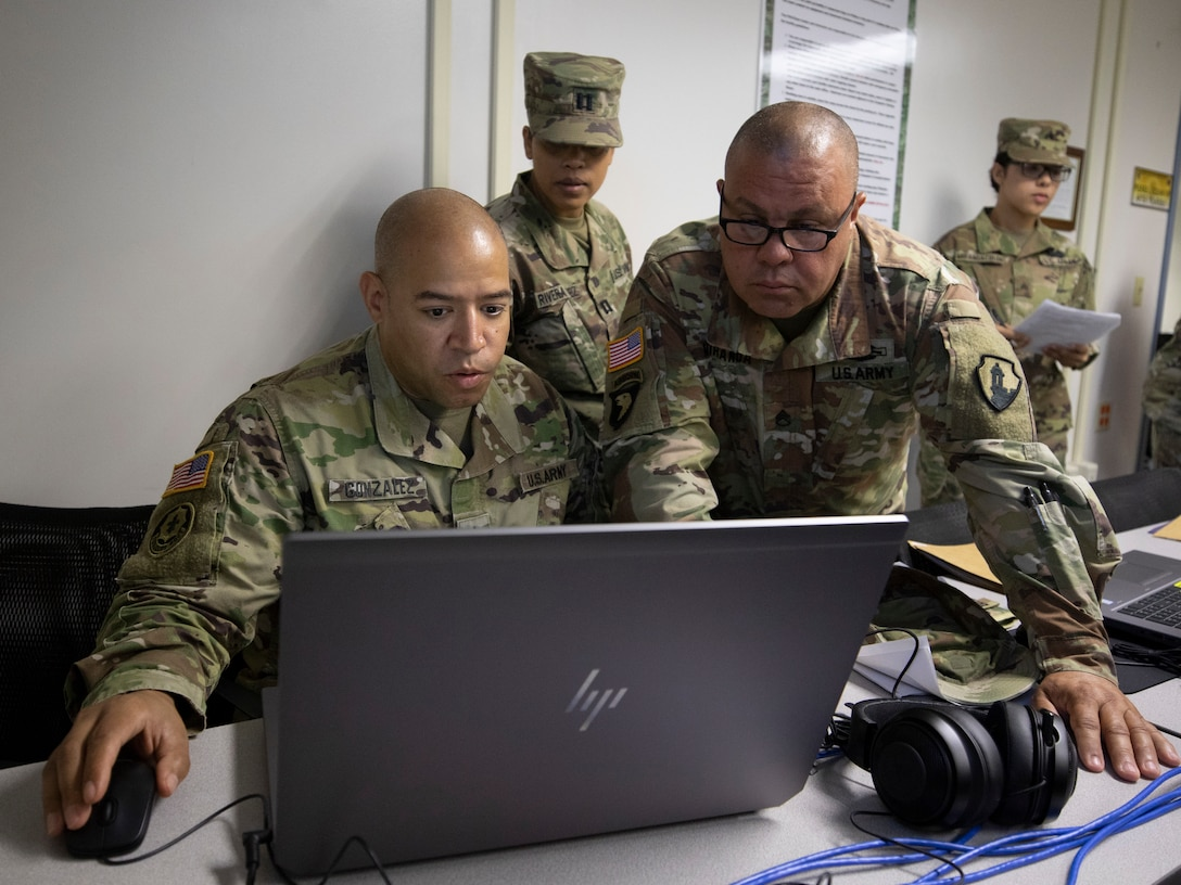 First Army trains Observers in the Caribbean