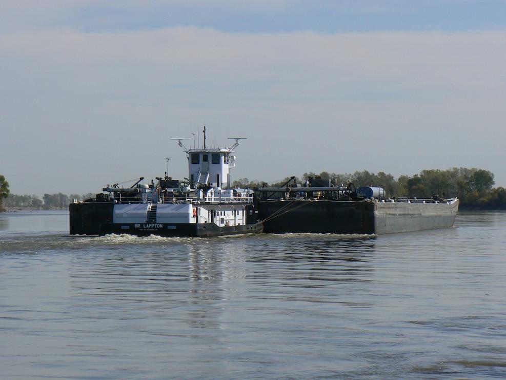 Lower Missouri River navigation
