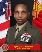 Sergeant Major Tracey D. Nicholson