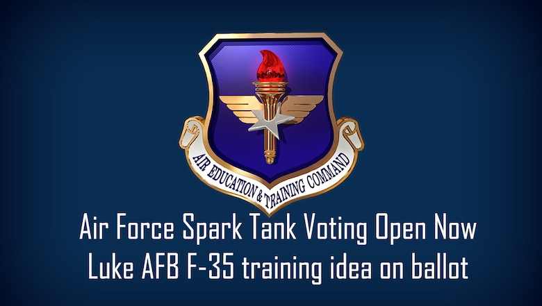 Voting for the 2020 Air Force Spark Tank competition is open from Feb. 20-28.  Spark Tank is an annual event hosted at the Air Force Association's Warfare Symposium in Orlando, Florida where Airmen pitch innovative ideas to a panel of top Air Force leadership and industry experts.
