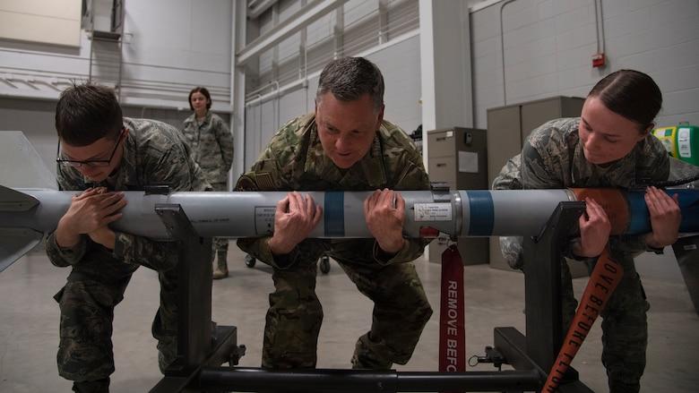 AETC Command Team visits Sheppard AFB