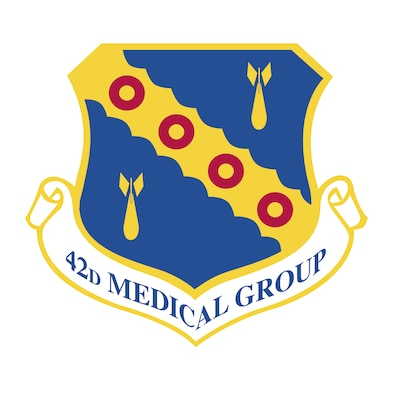 42nd Medical Group Shield ( Courtesy Graphic)