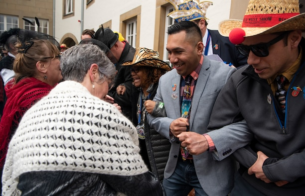 Bitburg residents celebrate Fasching with Saber Nation