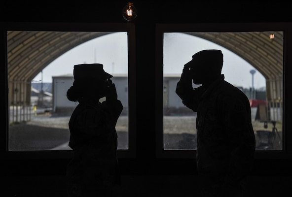 Mother and son serve side-by-side in support of CJTF-OIR