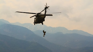 U.S and Greece perform joint multinational training exercise near Mount Olympus