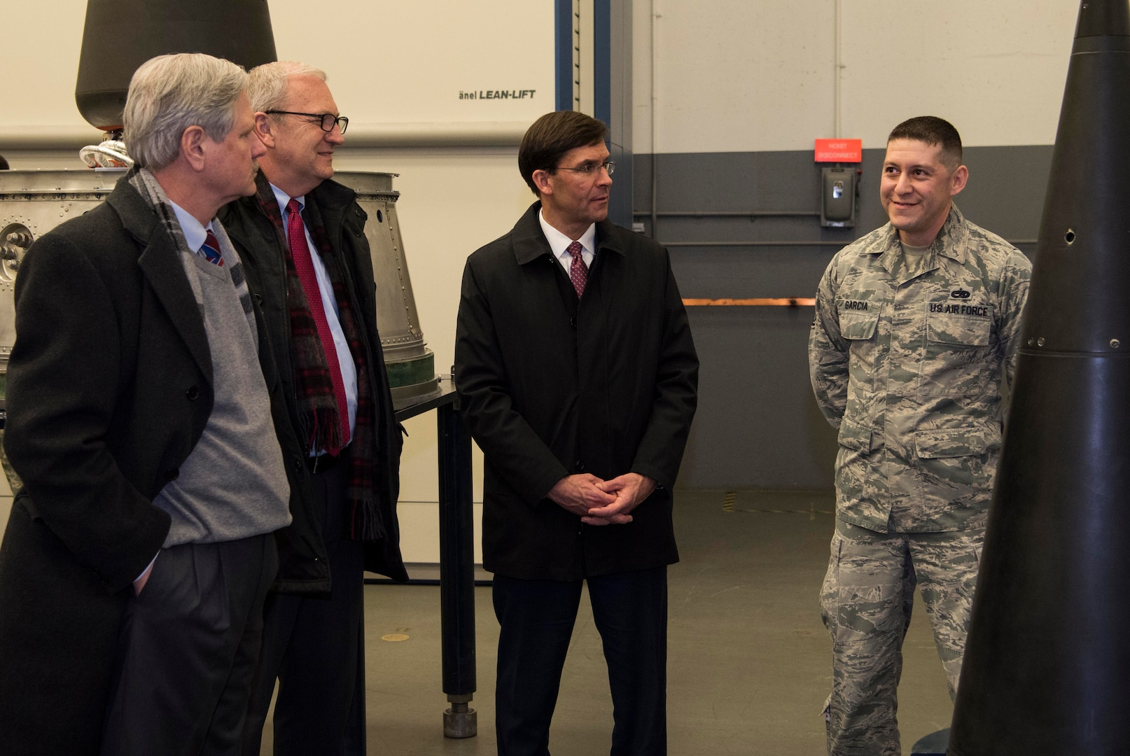 SECDEF visits Minot AFB