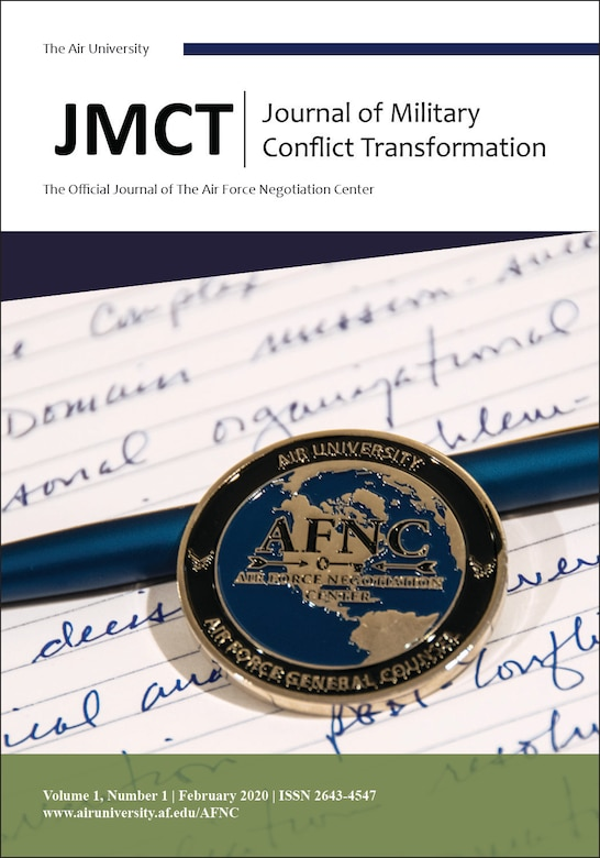Journal of Military Conflict Transformation. ( Courtesy Graphic)