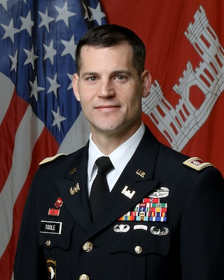 Lt. Col. Justin R. Toole became the Deputy District Commander for the Nashville District, U.S. Army Corps of Engineers on Nov. 6, 2017. As the deputy commander, he assists in directing all the water resource activities of the U.S. Army Corps of Engineers throughout the Cumberland River Basin, and navigation and regulatory matters in the Tennessee River Basin, an area of more than 59,000 square miles, with 49 field offices touching seven states and a work force of over 700 federal employees.