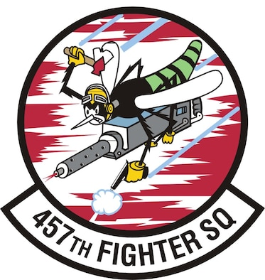 457th Fighter Squadron Patch