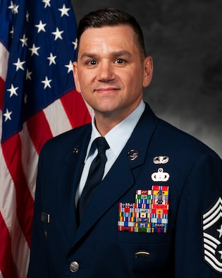 Photo of 23d Wing Command Chief