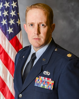Major Kenneth French is the commander, 420th Munitions Squadron.