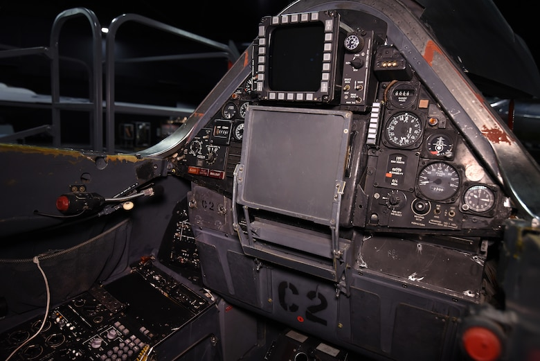 Lockheed SR-71A rear cockpit