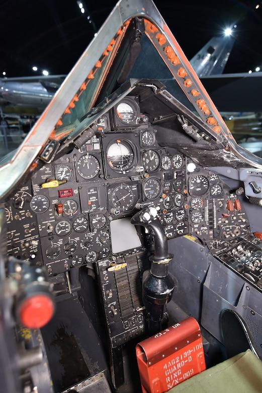 Lockheed SR-71A cockpit