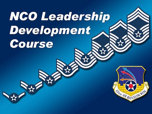 GRISSOM AIR RESERVE BASE, Ind., -- The 434th Force Support Squadron will be hosting the Air Force Reserve Command non-commissioned officer leadership development course here March 9-13, 2020. (U.S. Air Force graphic)