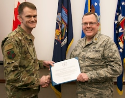 Geer Promoted to Lieutenant Colonel