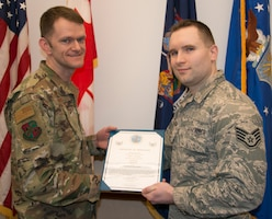 LaClair Promoted to Tech Sgt