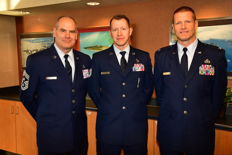 Master Sgt. Chris Armstrong, Minnesota Air National Guard First Sergeant of the Year