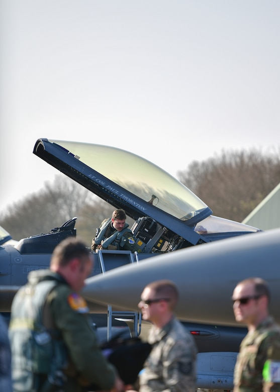 148th Fighter Wing participates in Frisian Flag 2019