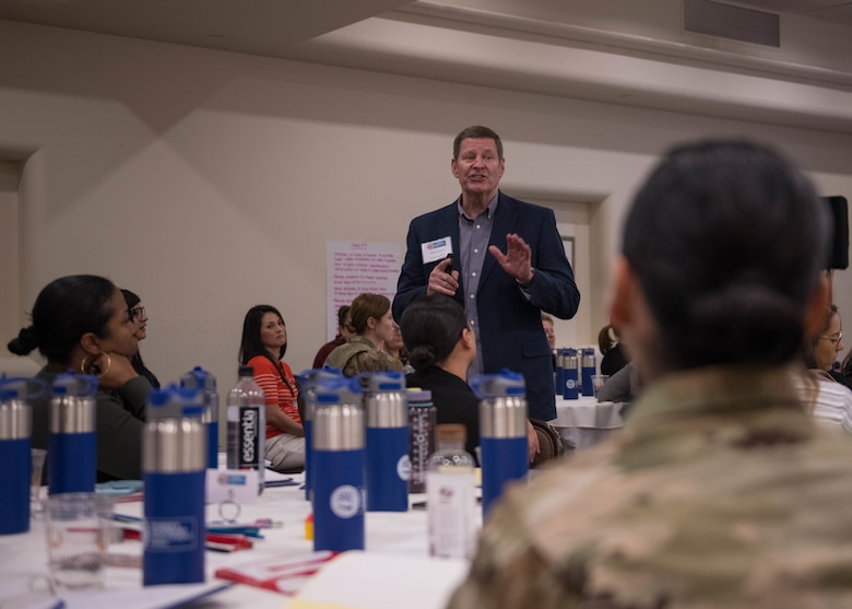 Female Airmen gain skills during leadership seminar